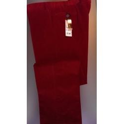Smalriflede fløjlsbukser - Pima cotton med Stretch fra HILTL