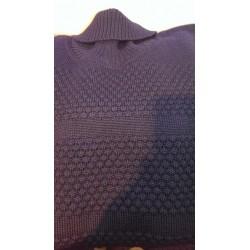 Original SAILOR sømandstrøje med rullekrave i ren uld