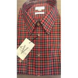 Klassisk vaskeuldsskjorte fra Van Heusen