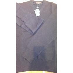 Viyella Lambswool Sweater med V-hals - Klassisk strik fra England