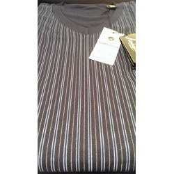 Klassisk jersey pyjamas med V-hals fra Ambassador