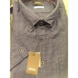 Kortærmet hørskjorte fra BRAX