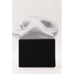 Pyntelommetørklæde i ren silke