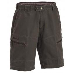 Canvas shorts i ren bomuld fra Pinewood