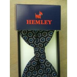 Smart og flot selvbinder butterfly i ren silke fra Hemley
