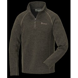 Strikket fleece sweater fra Pinewood