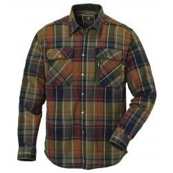 Eksklusiv og kraftig flanellskjorte fra Pinewood