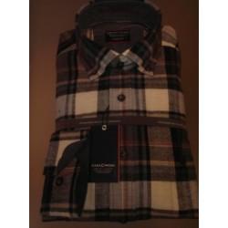 Flannelskjorte med Cashmere Feeling fra Casamoda