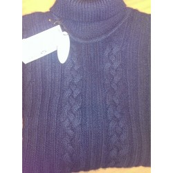 Super Geelong Lambswool rullekrave sweater fra Alan Paine