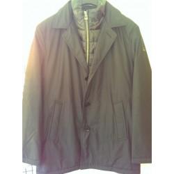 Klassisk frakke med aftalgelig dunkrave fra BRAX