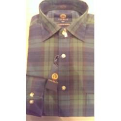 Viyella skjorte - Klassisk vaskeuldsskjorte fra England