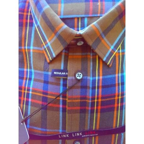 Sportsskjorte i kraftig flannelskvalitet fra LINK