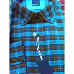 Sportsskjorte i flannelskvalitet fra OLYMP