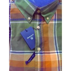 Sportsskjorte i flannelskvalitet fra GANT