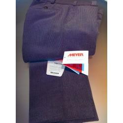 Fløjlsbukser i Trevira Uld og med Stretch fra Meyer