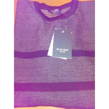 Pullover med Ohals fra Elkjær