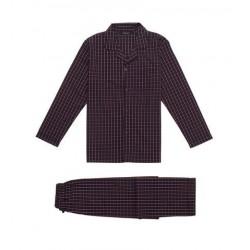 Klassisk poplin pyjamas fra Ambassador