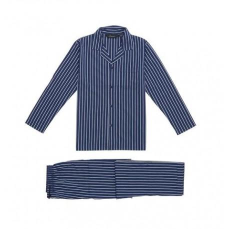 Klassisk satin pyjamas fra Ambassador