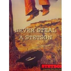 Stetson Vitafelt Traveller i ren uld.