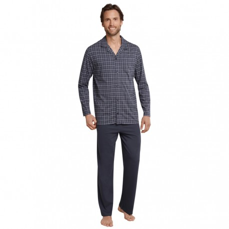 Poplin pyjamas fra Schiesser