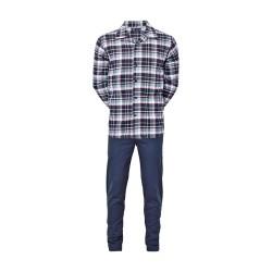 Varm flannelpyjamas fra JBS