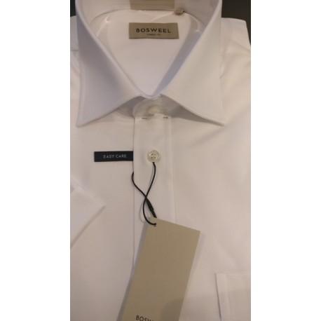 Klassisk skjorte m/korte ærmer fra Bosweel