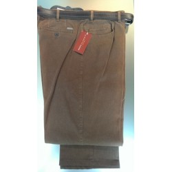 Lærredsbuks med stretch fra BRÛHL - Klassisk snit