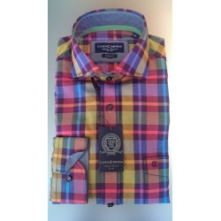 Flot ternet skjorte fra CASAMODA - Casual Fit
