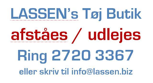 BUTIK AFSTÅES/UDLEJES!
